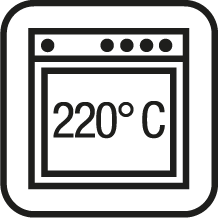 Oven safe up to 220° C