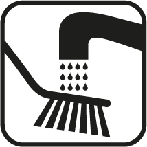 To be handwashed only